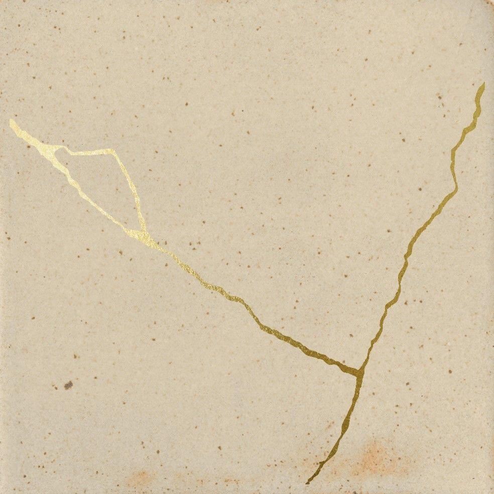 Enso Kintsugi Sand 12,5x12,5 płytki dekoracyjne