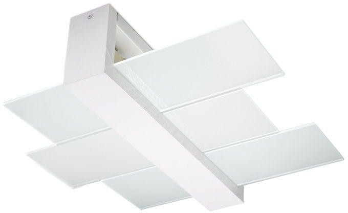 Skandynawski plafon E777-Feniko - biały