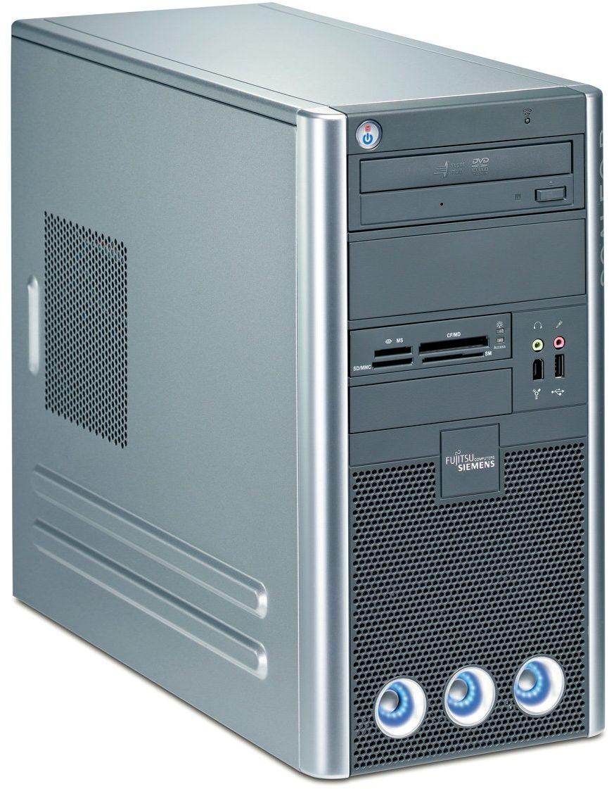 Fujitsu SCALEO Pa 2666 komputer stacjonarny (AMD Phenom 9600 2,3 GHz, 3 GB RAM, 500 GB HDD, Nvidia 8600 GS, DVD+- DL RW, Windows Vista Home Premium)