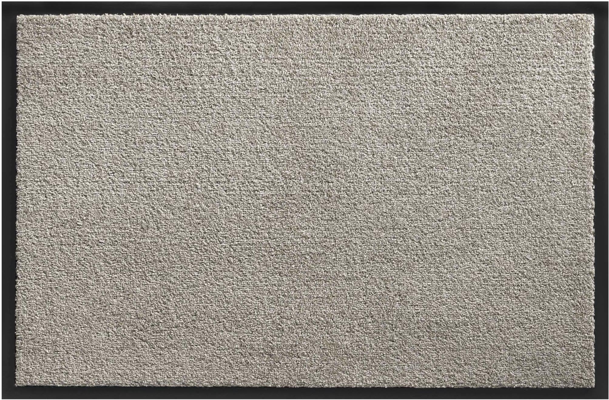 Cukierek mata wejściowa z polipropylenu przeciwpyłowego do użytku w pomieszczeniach 60 x 90 cm szara