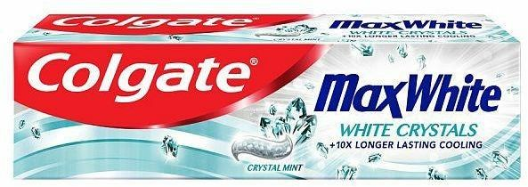 Colgate Pasta Do Zębów Max White Crystals 100ml..