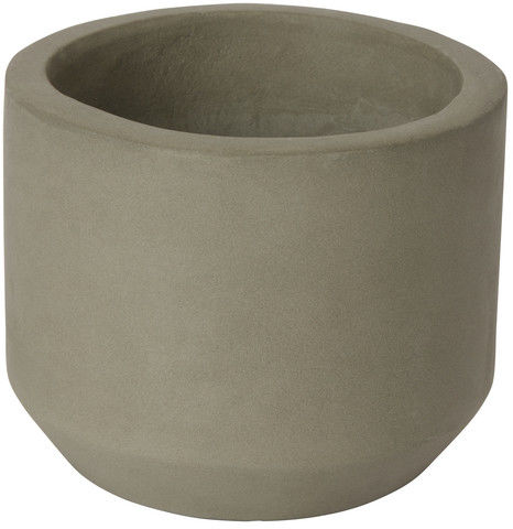 Doniczka betonowa GoodHome okrągła 9 cm