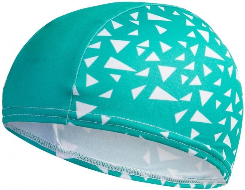 Speedo polyester printed cap junior zielony