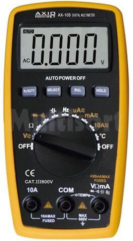 Multimetr cyfrowy Axiomet AX-105 LCD (3999)