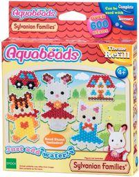 Aquabeads 31068 Sylvanian Families Set - zestaw do majsterkowania, tematy, zestaw uzupełniający