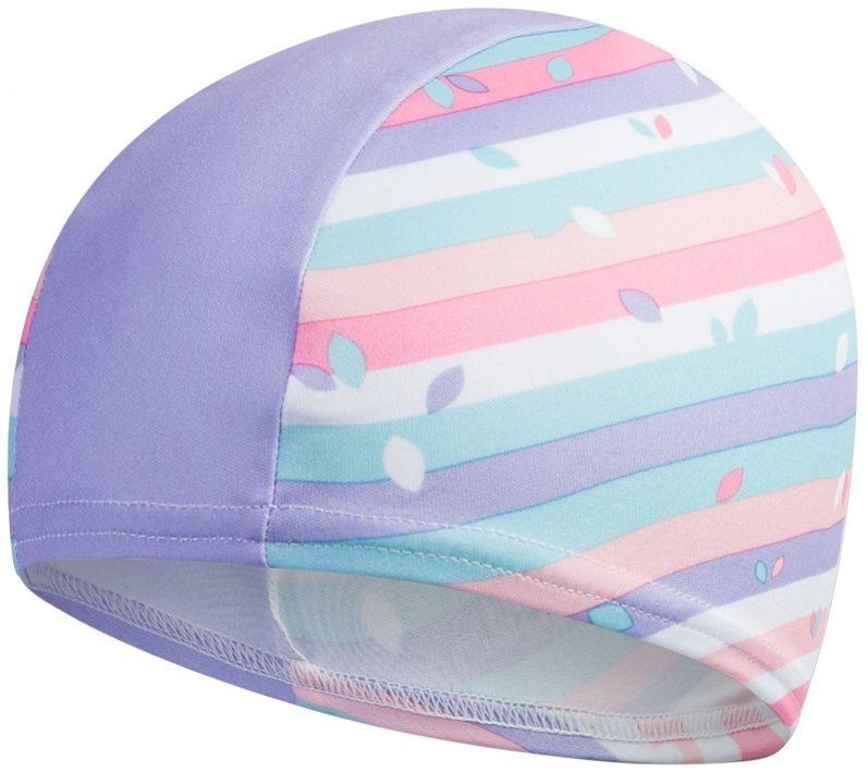 Speedo polyester printed cap junior niebieski/fioletowy