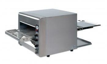 Opiekacz taśmowy z kwarcową grzałką 470x105 x400 mm 230 V