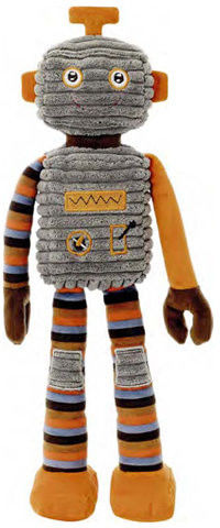 TeddyKompaniet Robot Kidz Alfa 45cm 02824