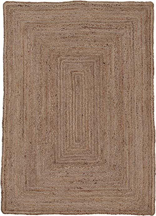 carpetfine Dywan z juty, 100% juta, beżowy, 60 x 100 cm