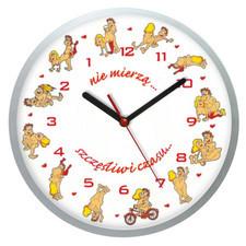 Zegar ścienny solid szczęśliwe chwile