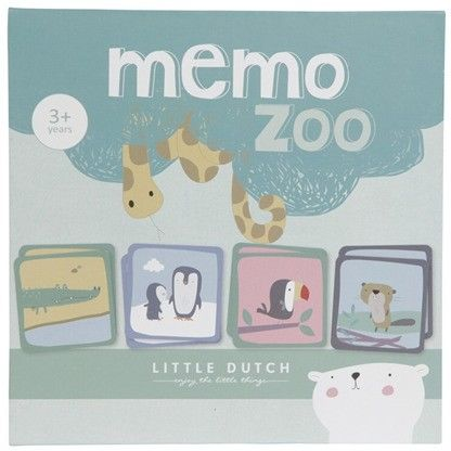 Little Dutch - gra Memory - zoo