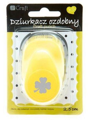 """Dziurkacz ozdobny DALPRINT """"Koniczyna"""" 2.5cm AJCDZ-110-233"""