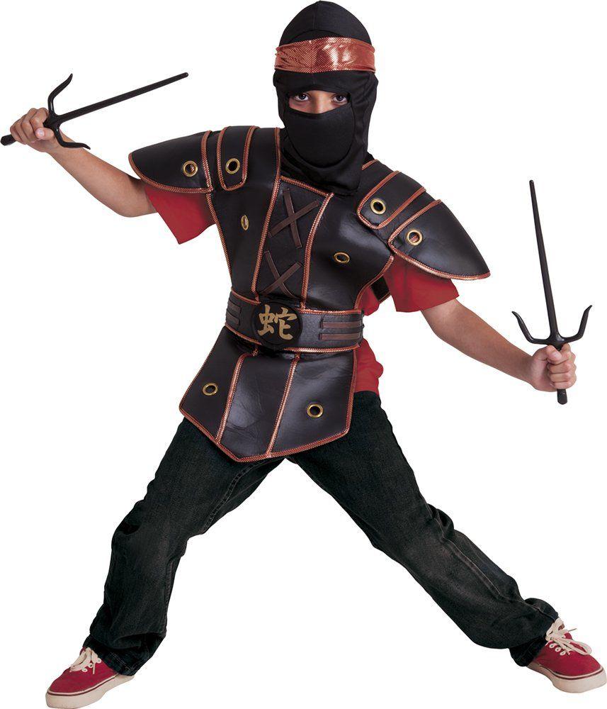 Rubie ''s  kostium dziecięcy Ninja Kid (S8421) M bez danych