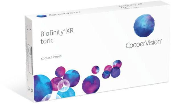 Biofinity XR Toric, 3 szt.