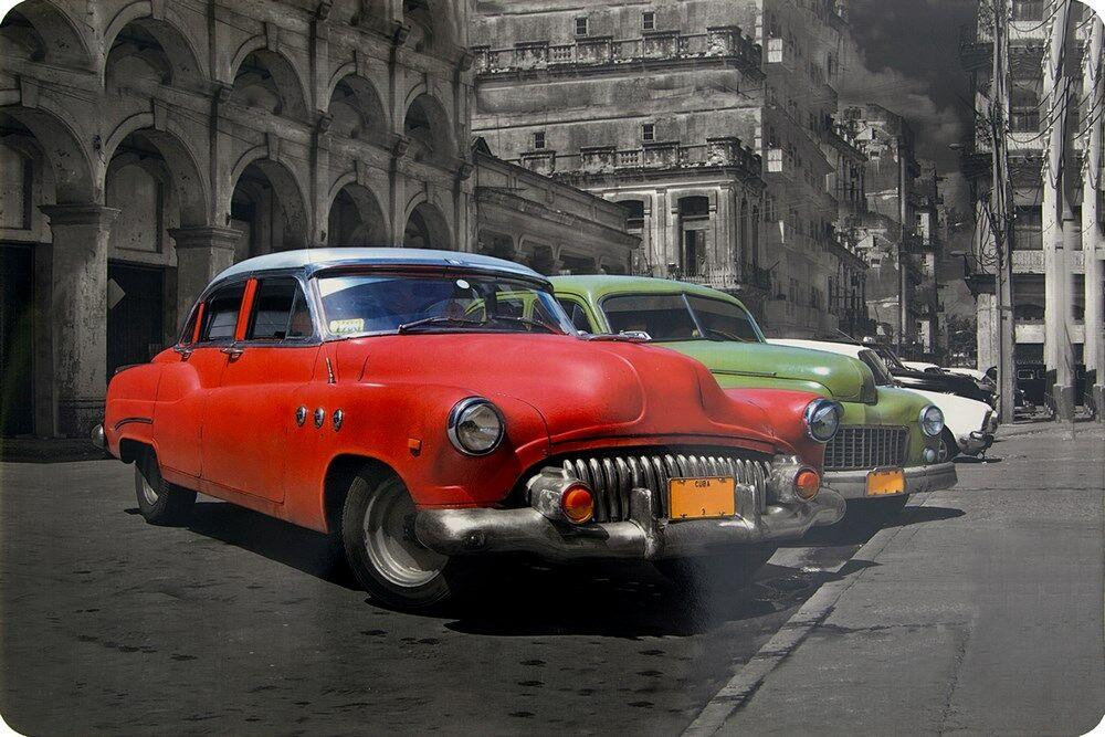 Podkładka na stół 30x43 Samochód Cars czerwony zielony biały czarny Eurofirany