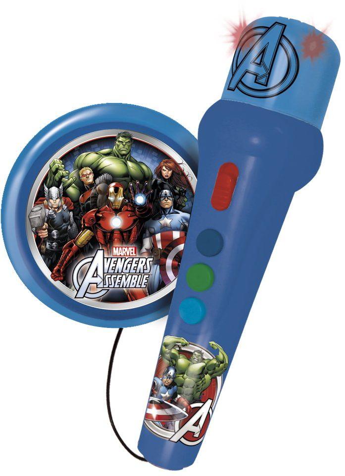 Reig 1668 - Avengers Assemble mikrofon ręczny z aktywnym głośnikiem