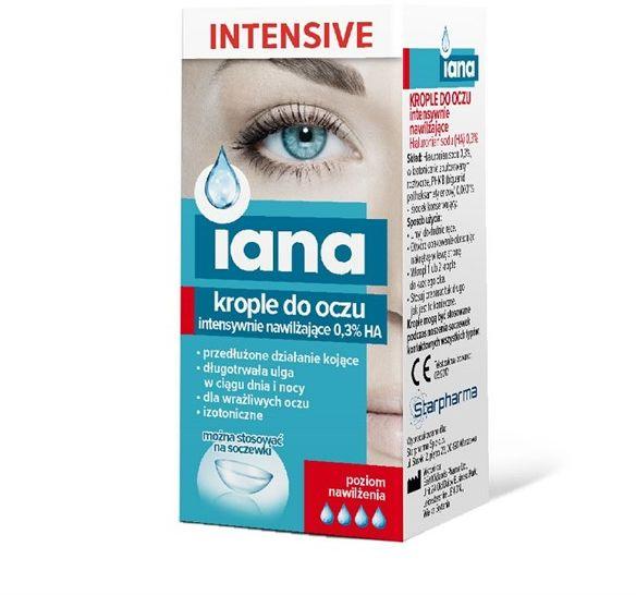 Iana Krople Do Oczu Intensive 10ml
