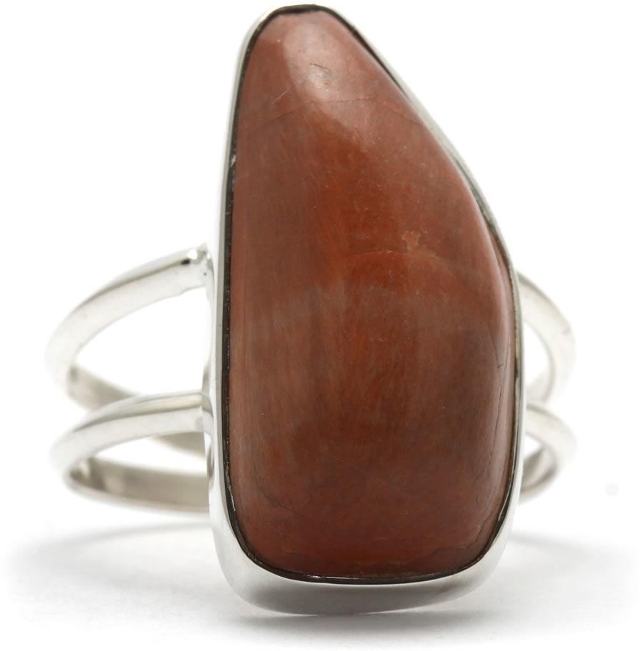 Kuźnia Srebra - Pierścionek srebrny, rozm. 17, Mokait, 6g, model