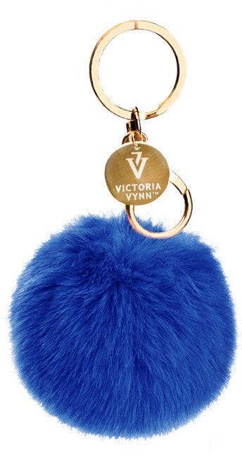 Breloczek z puszkiem Victoria Vynn Granat