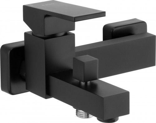 Bateria wannowa bez kompletu natryskowego, czarny Anemon