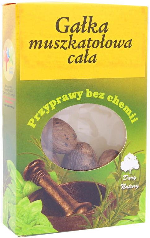 Gałka muszkatołowa cała - Dary Natury - 30g