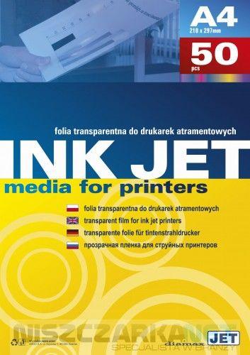 Folia do drukarek atramentowych A4 opk 50 szt.