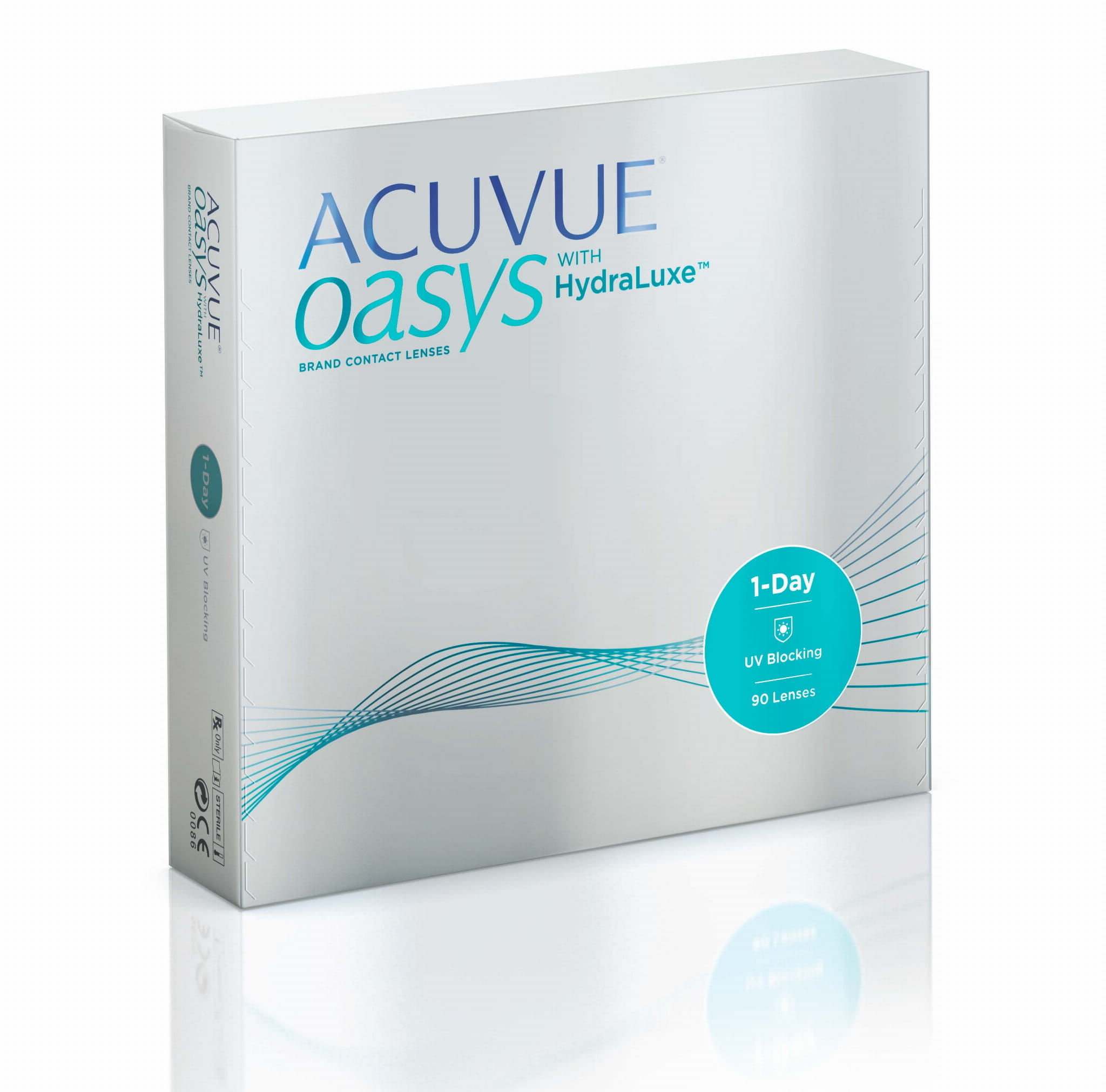 Acuvue Oasys 1-Day HydraLuxe, 90 szt.