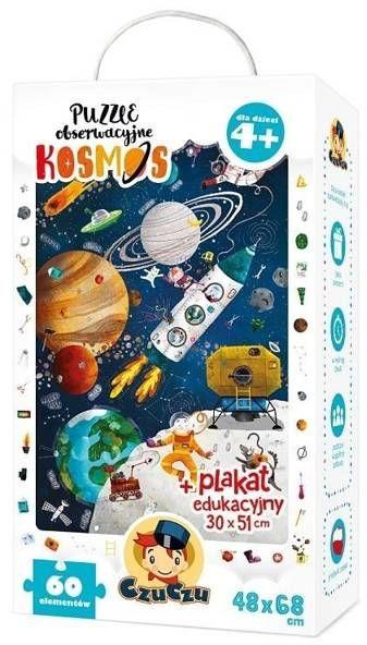 Puzzle obserwacyjne Kosmos - Bright Junior Media