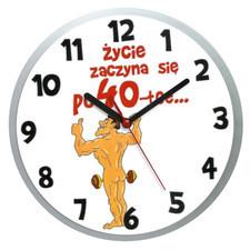 Zegar naścienny dla 40-latka