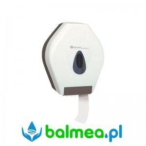Pojemnik na papier toaletowy MERIDA TOP MINI - okienko szare, tył szary