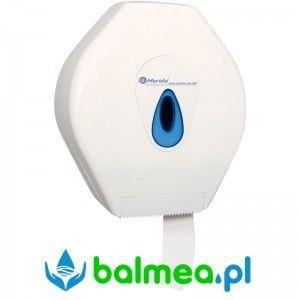 Pojemnik na papier toaletowy MERIDA TOP MAXI - okienko niebieskie