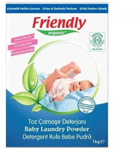 FRIENDLY ORGANIC Proszek do prania ubranek dziecięcych 1kg