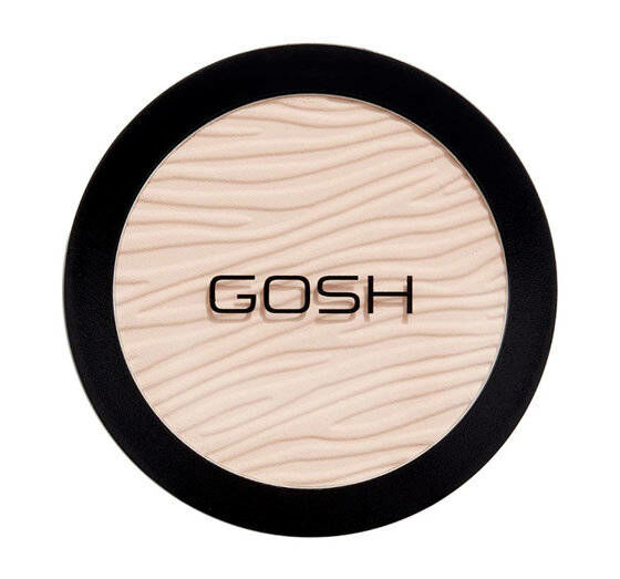 GOSH Dextreme Powder Prasowany puder matujący 002 Ivory 9g