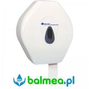 Pojemnik na papier toaletowy MERIDA TOP MAXI - okienko szare