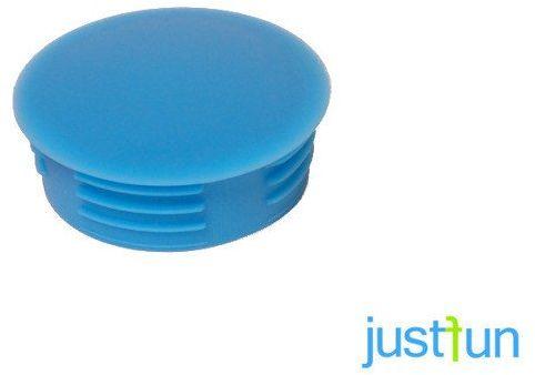 Zaślepka wciskana 35 mm - niebieski