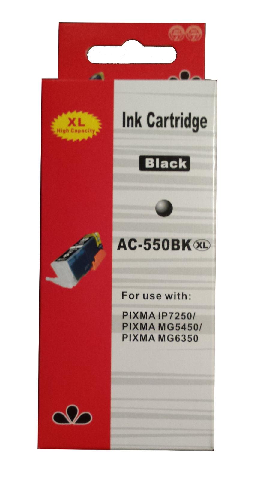 zastępczy atrament Canon [PGI-550PGBK XL] black 100% nowy