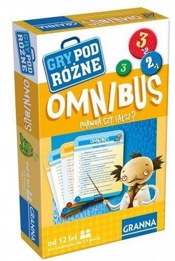 Gry podróżne - Omnibus GRANNA