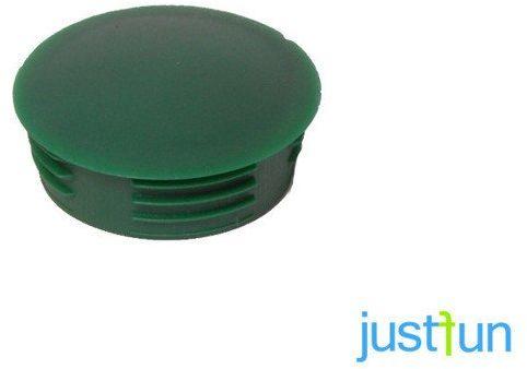 Zaślepka wciskana 35 mm - zielony