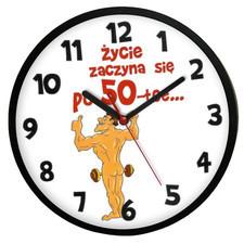 Zegar naścienny dla 50-latka