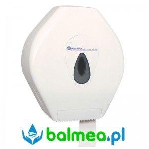 Pojemnik na papier toaletowy MERIDA TOP MEGA - okienko szare