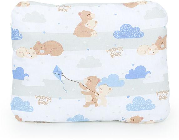 MAMO-TATO Poduszka podusia przytulanka z wypełnieniem  30x40 - Niedźwiadki beżowe
