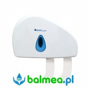 Pojemnik na papier toaletowy MERIDA TOP DUO - okienko niebieskie