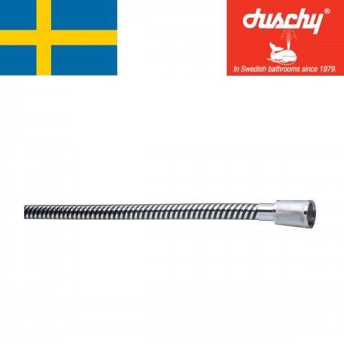 Wąż prysznicowy CLASSIC PVC czarny/chrom 150 cm