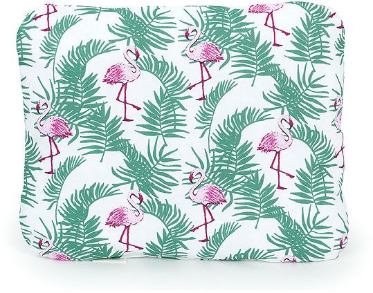 MAMO-TATO Poduszka podusia przytulanka z wypełnieniem  30x40 - Flamingi