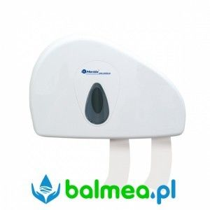 Pojemnik na papier toaletowy MERIDA TOP DUO - okienko szare