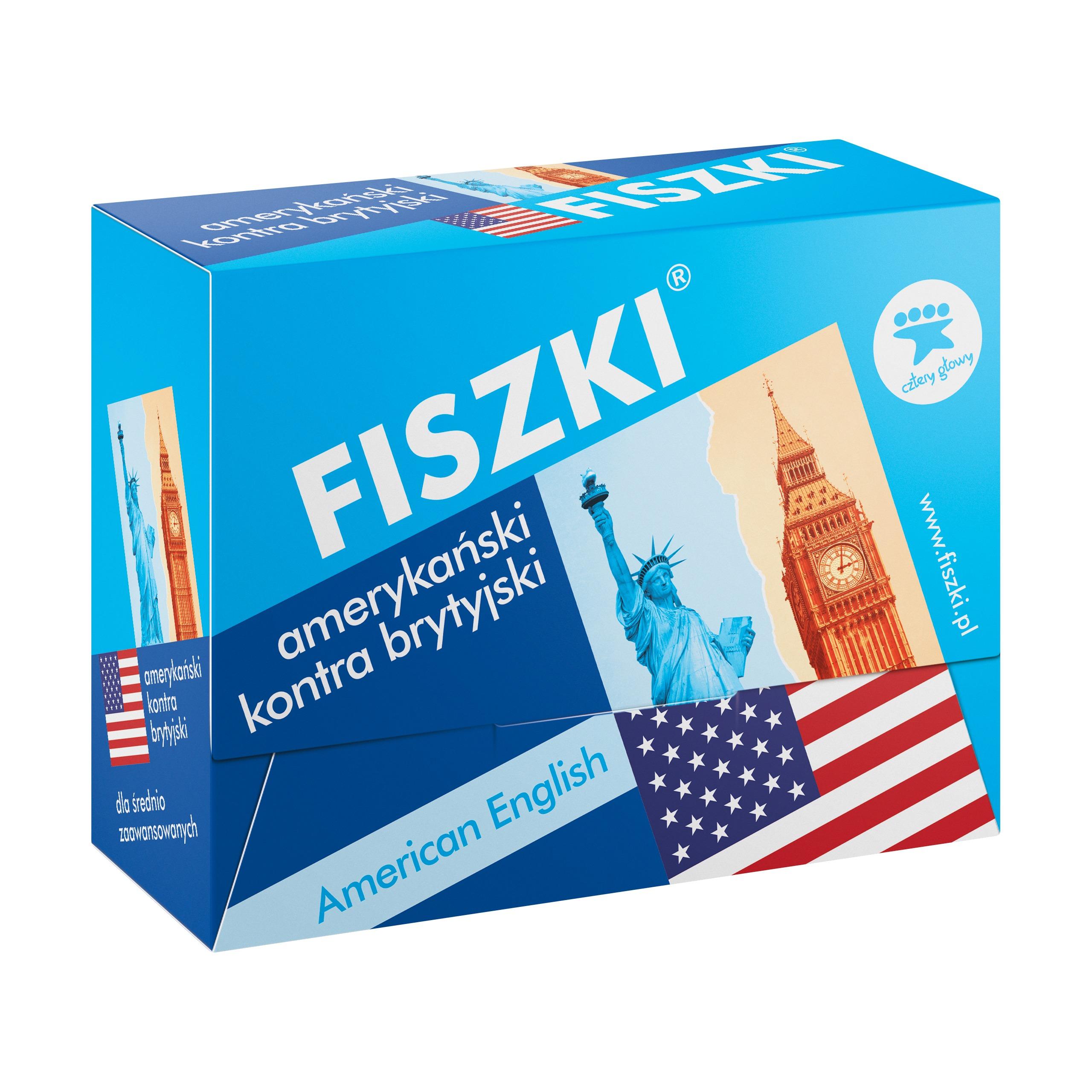 FISZKI - angielski - Amerykański kontra brytyjski