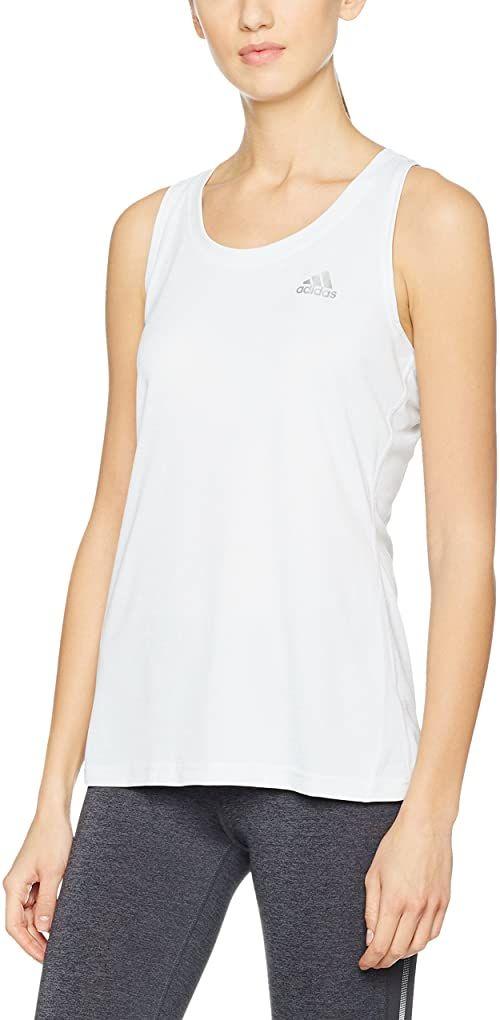 adidas Damski tank top Climachill, Chill White/Hb Dd, L