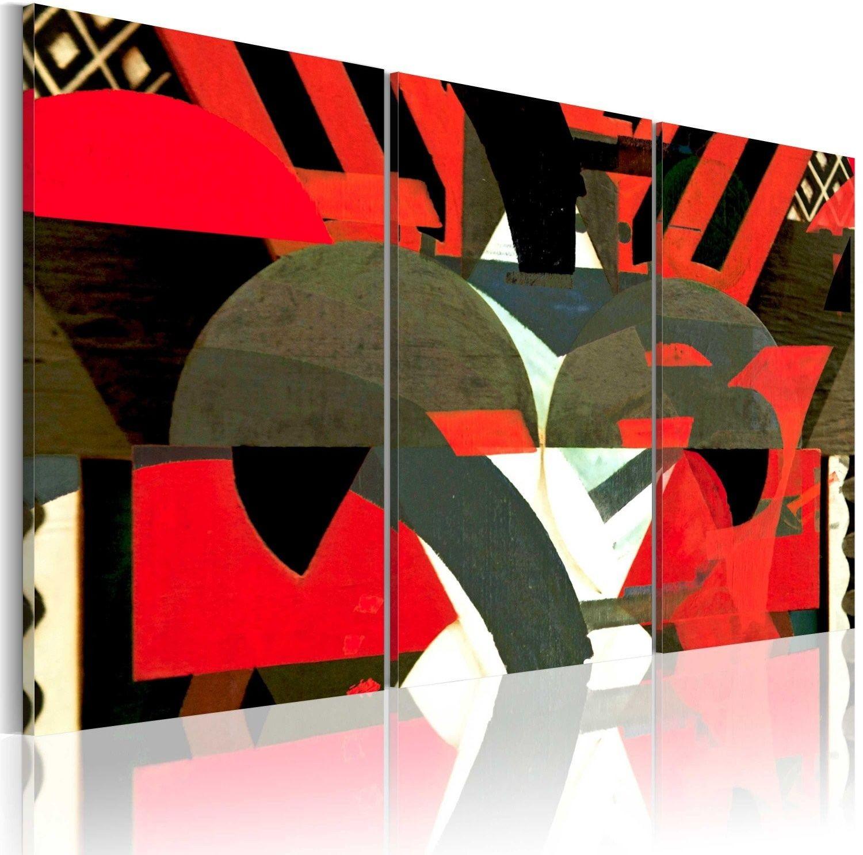 Obraz - szyk abstrakcyjnych form