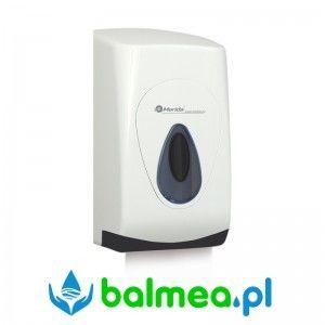 Pojemnik na papier toaletowy w listkach MERIDA TOP MINI - okienko szare, tył szary