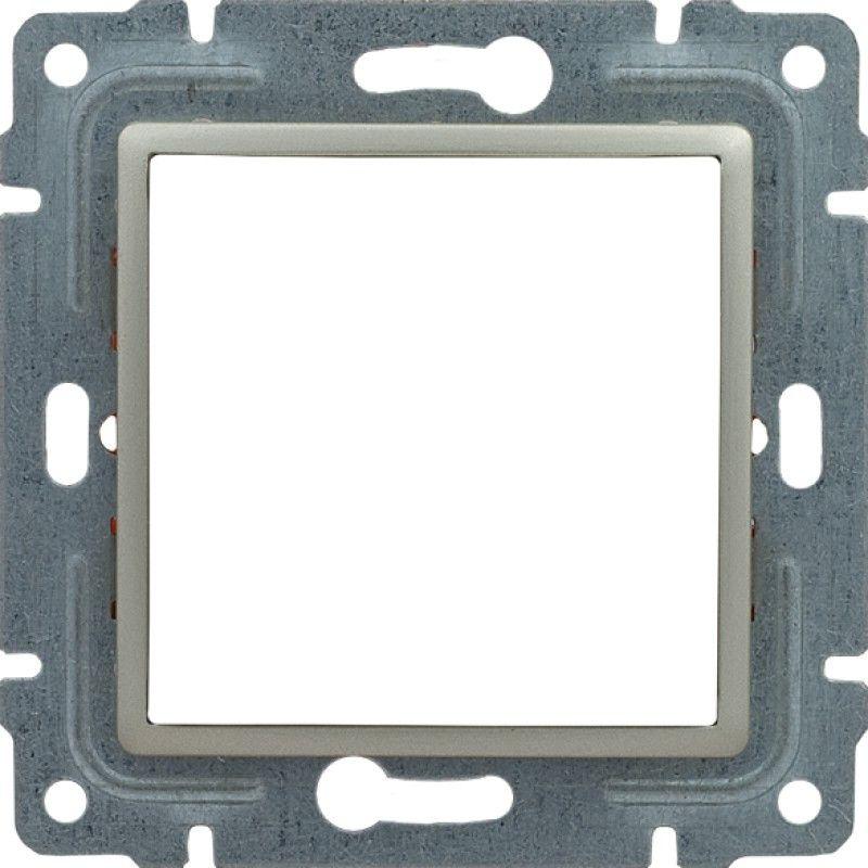 VENA Uchwyt montażowy 45x45 z redukcją ramki satyna 515045